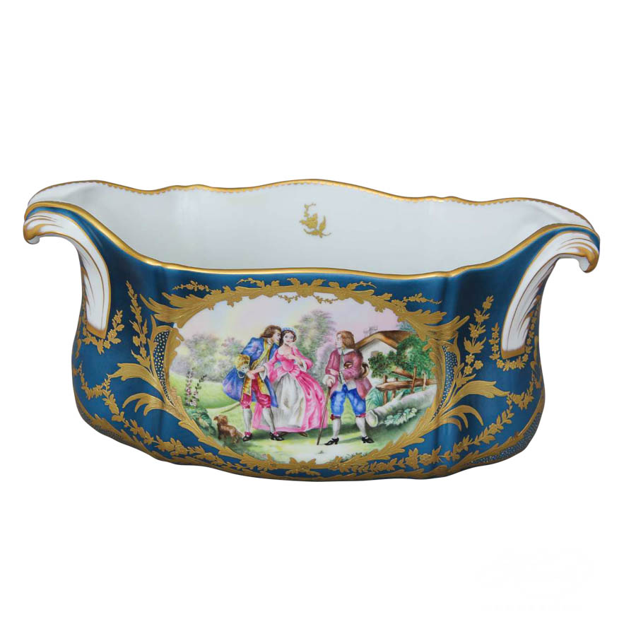 Fancy Jardiniere 7651-0-00 SP337 Special design. Herend fine china