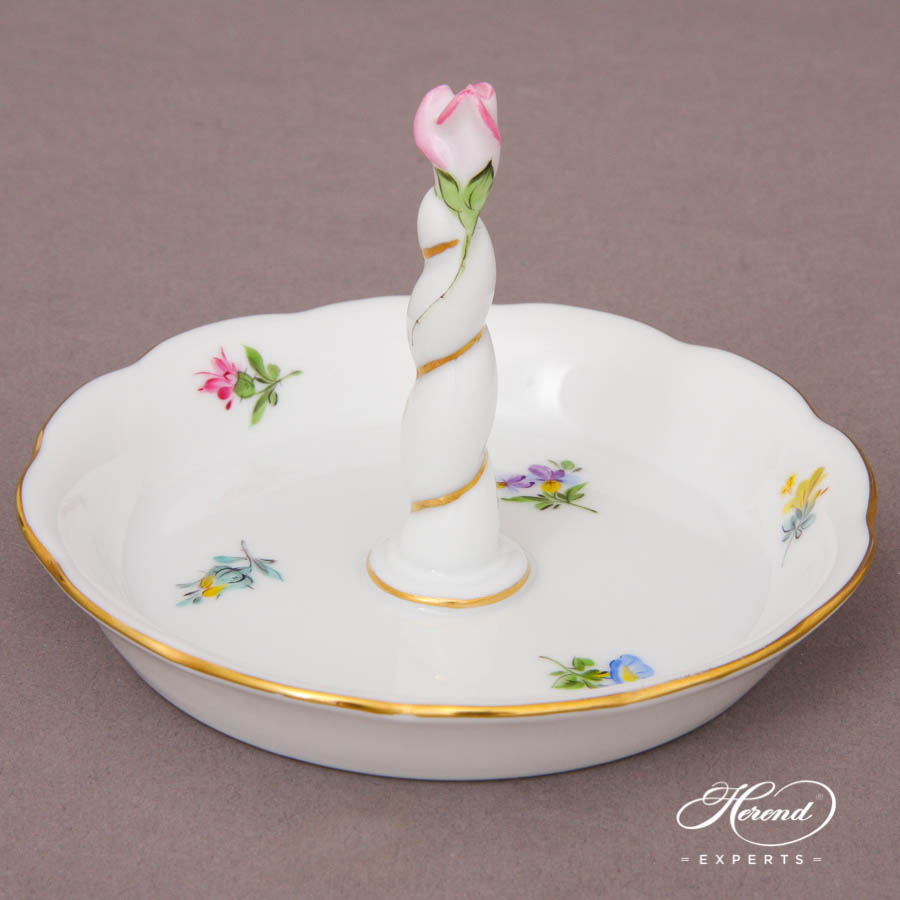 Ring Holder 7704-0-91 MF Thousand Flowers pattern. Herend fine china